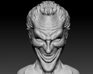Joker in zBrush
